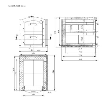 Holzbackofen Bausatz Kabob 5072 Das Multitalent Grillforum Und