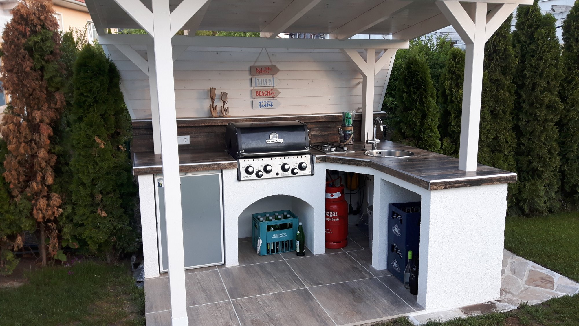 Outdoor Küche Grillsportverein : Ziemlich außenküche schranktüren fotos küchen design ideen