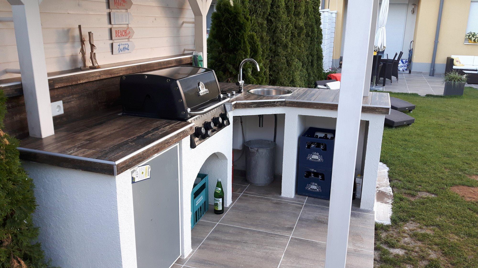 outdoor k che eigenbau grillforum und bbq. Black Bedroom Furniture Sets. Home Design Ideas