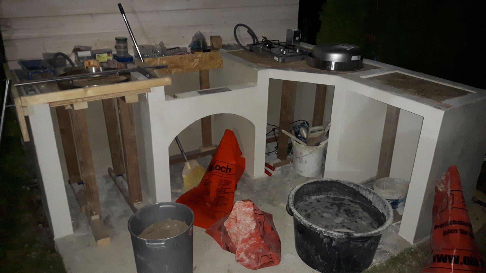 Outdoor Küche Verkleiden : Outdoor küche eigenbau grillforum und bbq grillsportverein