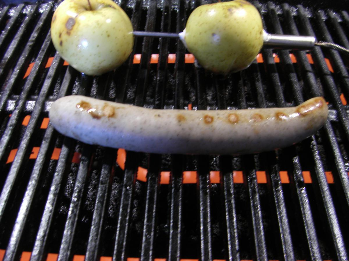 Weber Elektrogrill Bratwurst : Bratwurst vom q grillforum und bbq grillsportverein