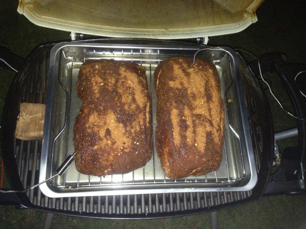 Pulled Pork Gasgrill Q 220 : Mein pulled pork auf dem q grillforum und bbq
