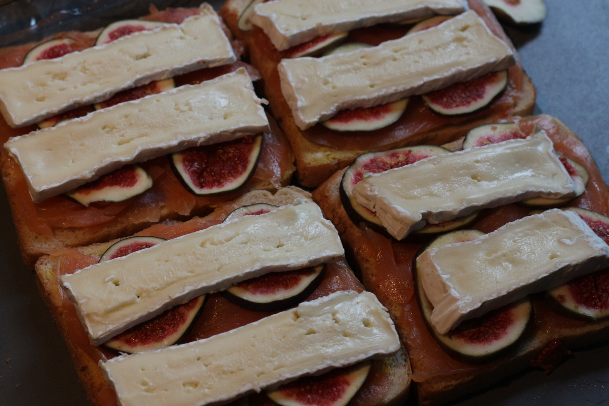 Sandwichstellung