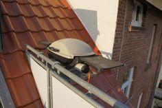 Weber Elektrogrill Balkon : Balkonhalterung für weber q120 grillforum und bbq www