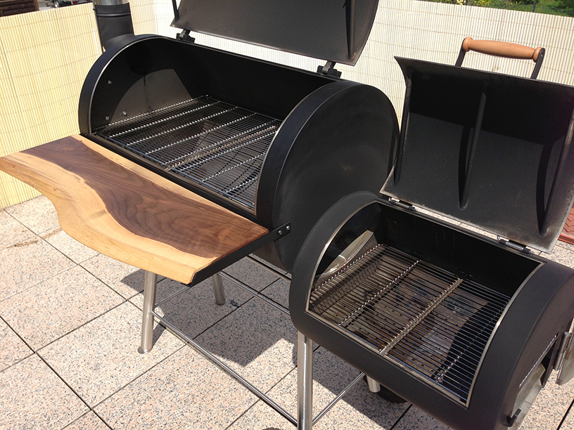 mein neuer edelstahl smoker eigenbau grillforum und bbq. Black Bedroom Furniture Sets. Home Design Ideas