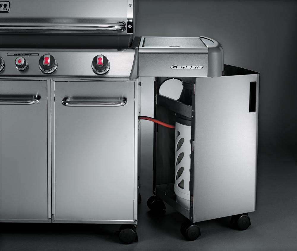 gasflaschenhalter f r summit 670 grillforum und bbq. Black Bedroom Furniture Sets. Home Design Ideas