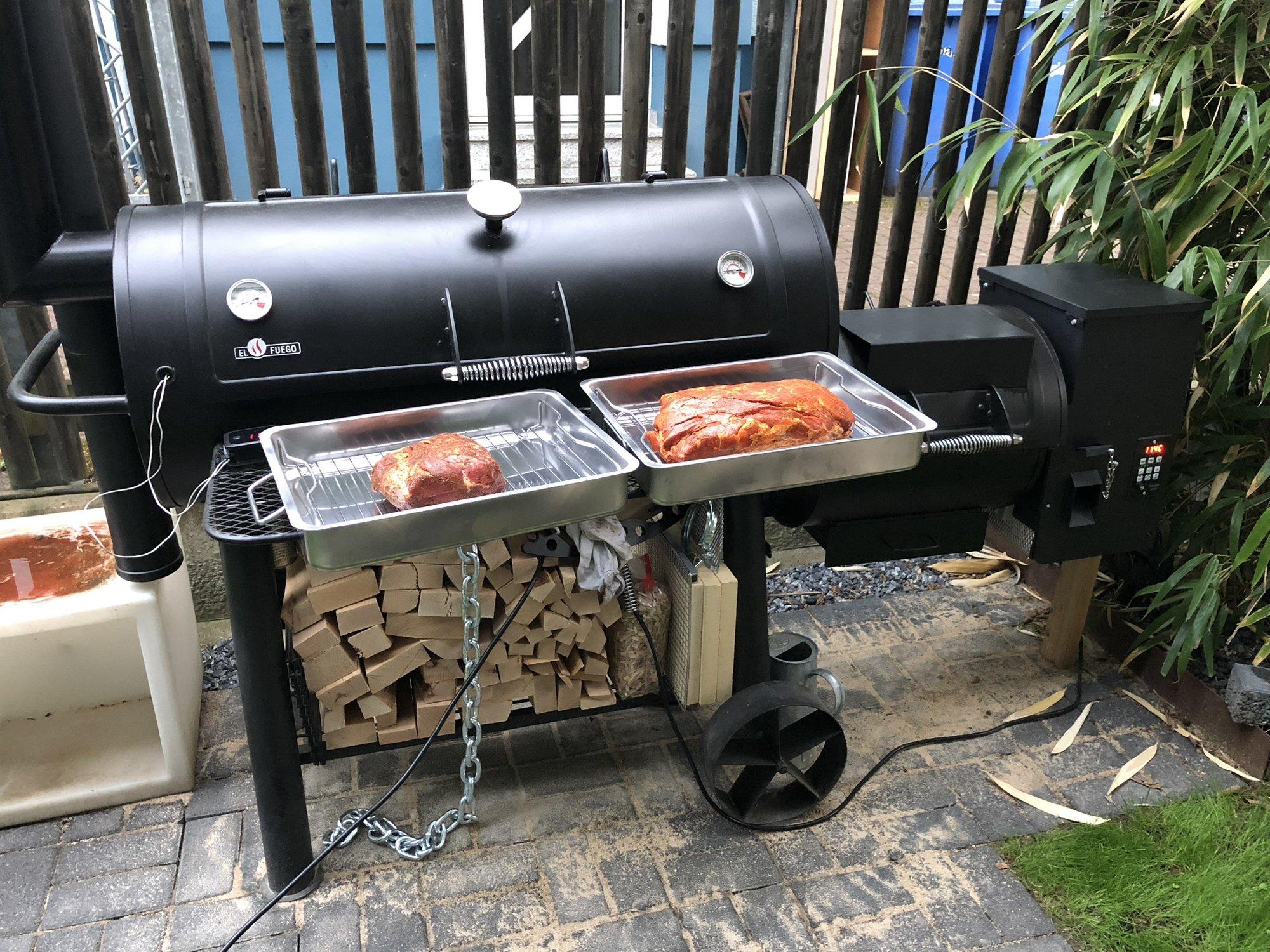 Pulled Pork Gasgrill Grillsportverein : Pulled pork vom smoker mit pellet hopper grillforum und bbq www