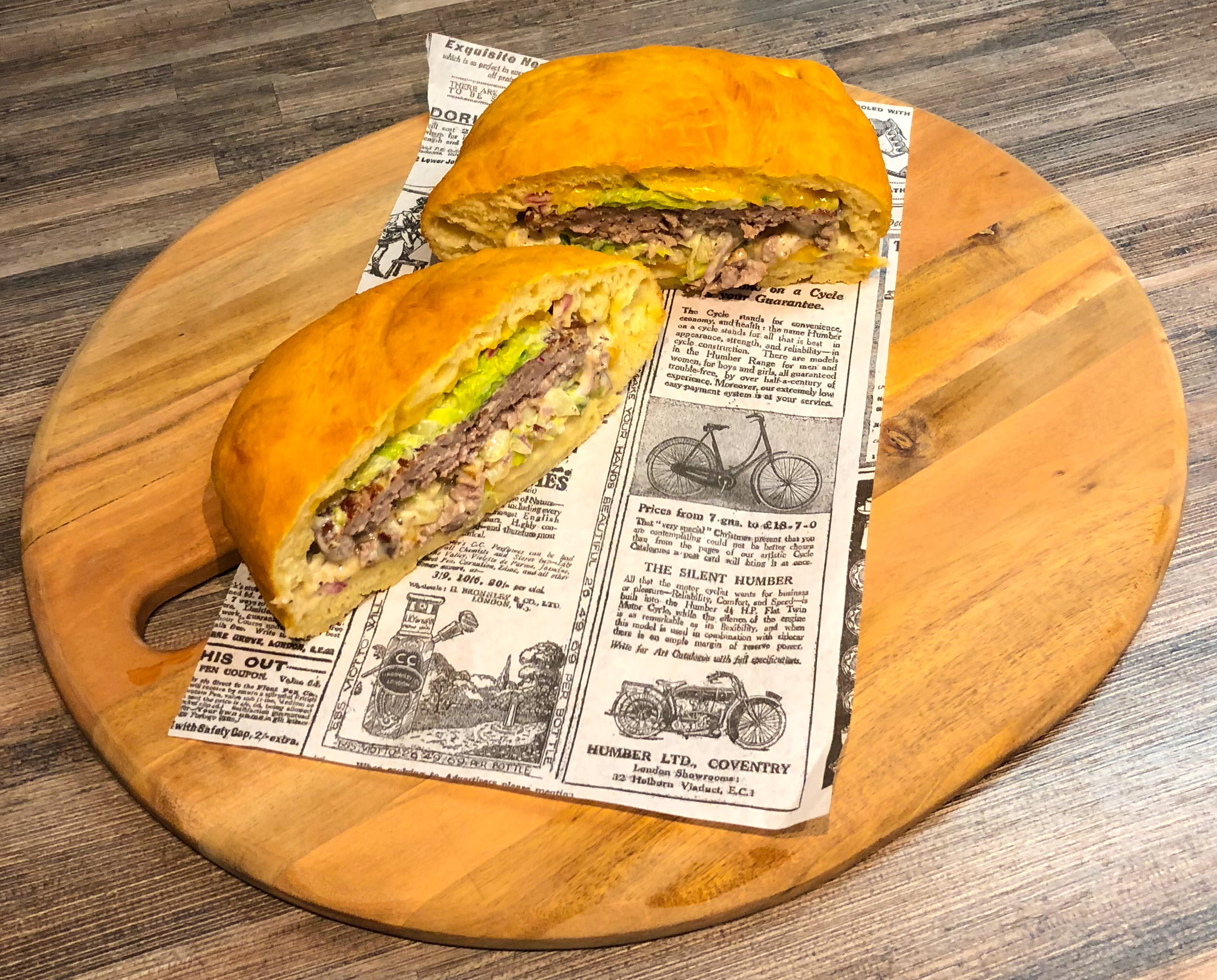 otto korzo fried burger best burger from eastfreezeland nyc grillforum und bbq www. Black Bedroom Furniture Sets. Home Design Ideas