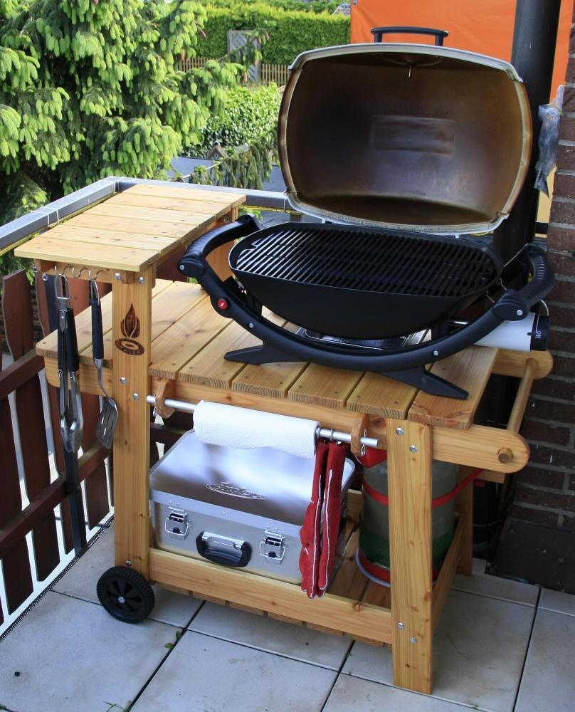 grillwagen f r weber q220 grillforum und bbq. Black Bedroom Furniture Sets. Home Design Ideas