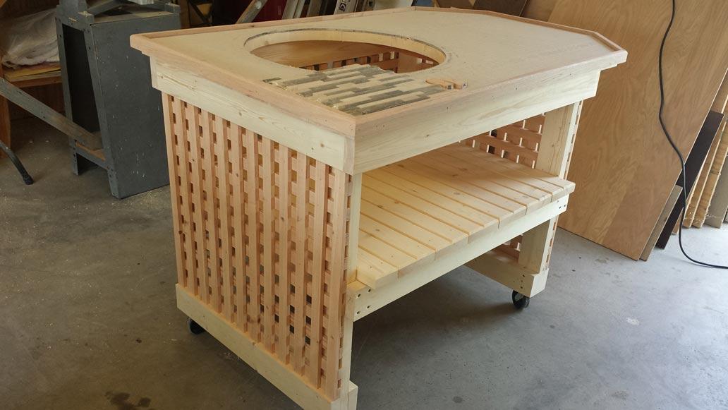 frage zur arbeitsplatte au enk che grillforum und bbq. Black Bedroom Furniture Sets. Home Design Ideas