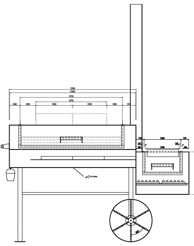 24 Zoll Reverse-Flow-Smoker mit Hindernissen  Grillforum und BBQ - www.grillsportverein.de
