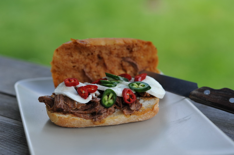 Hot & Spicy Italian Beef Drip   Grillforum und BBQ - www ...