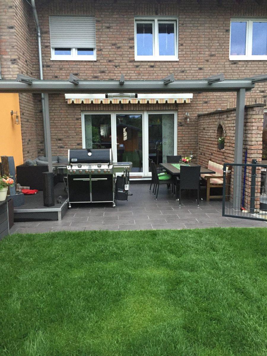terrassenerweiterung mit grillunterstand grillforum und bbq. Black Bedroom Furniture Sets. Home Design Ideas
