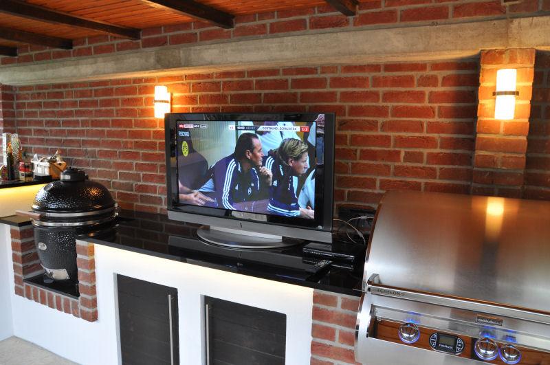 Außenküche Mit Smoker : Außenküche mit smoker: individuelle aussenküchen aussenküchen hico