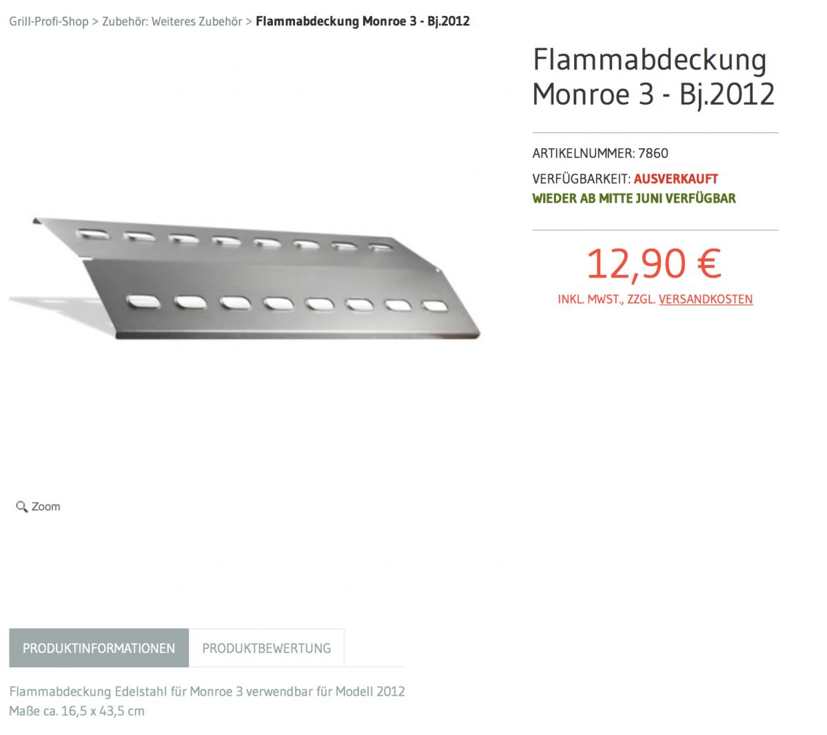 enders monroe flammenverteiler total verrostet grillforum und bbq. Black Bedroom Furniture Sets. Home Design Ideas