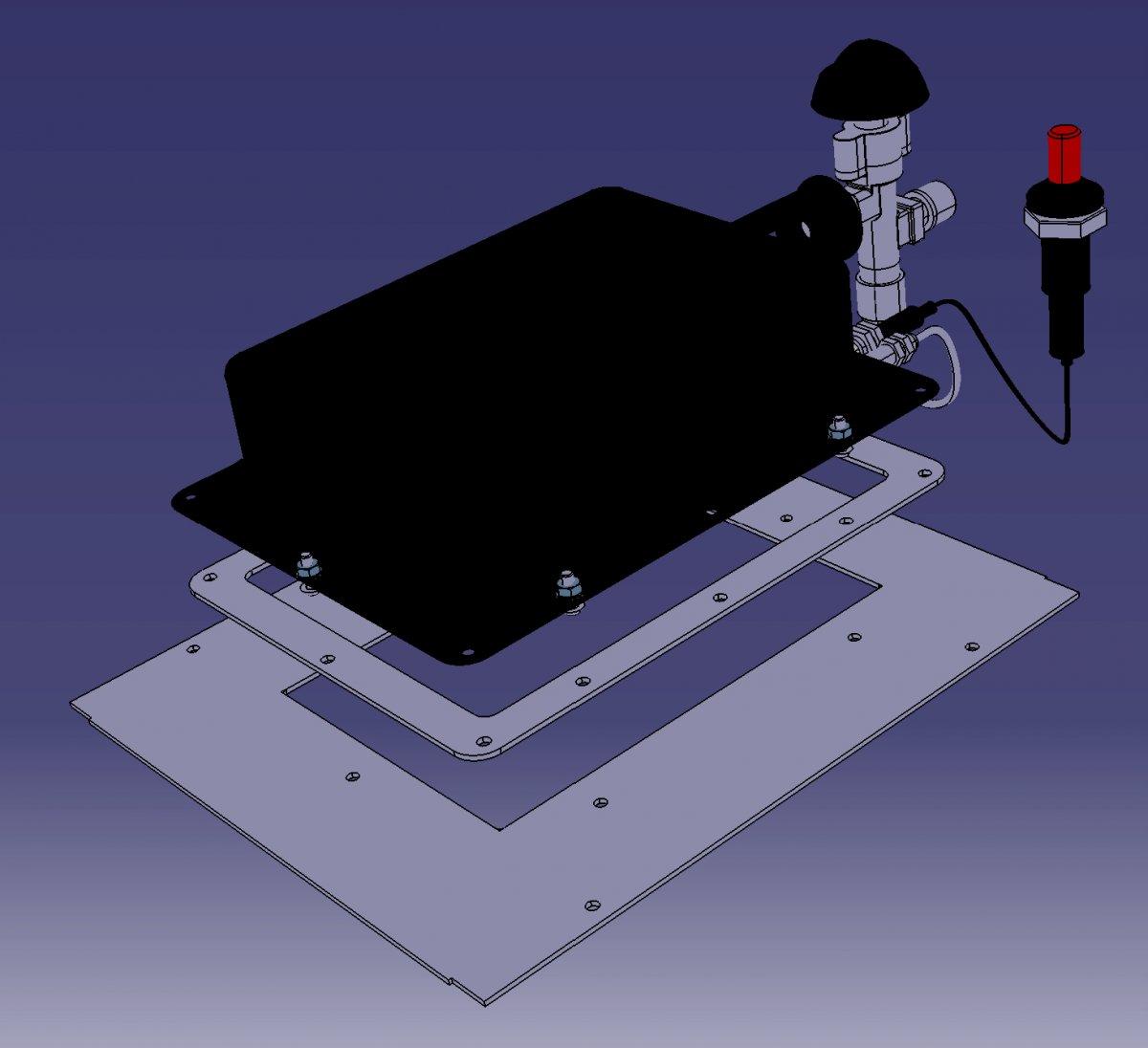 selbstbau eines oberhitze grills seite 191 grillforum und bbq. Black Bedroom Furniture Sets. Home Design Ideas