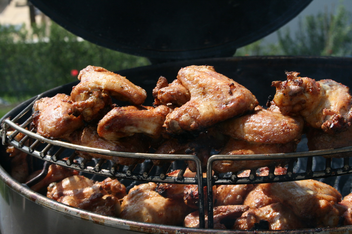 Chicken Wings - oldschool | Grillforum und BBQ - www ...