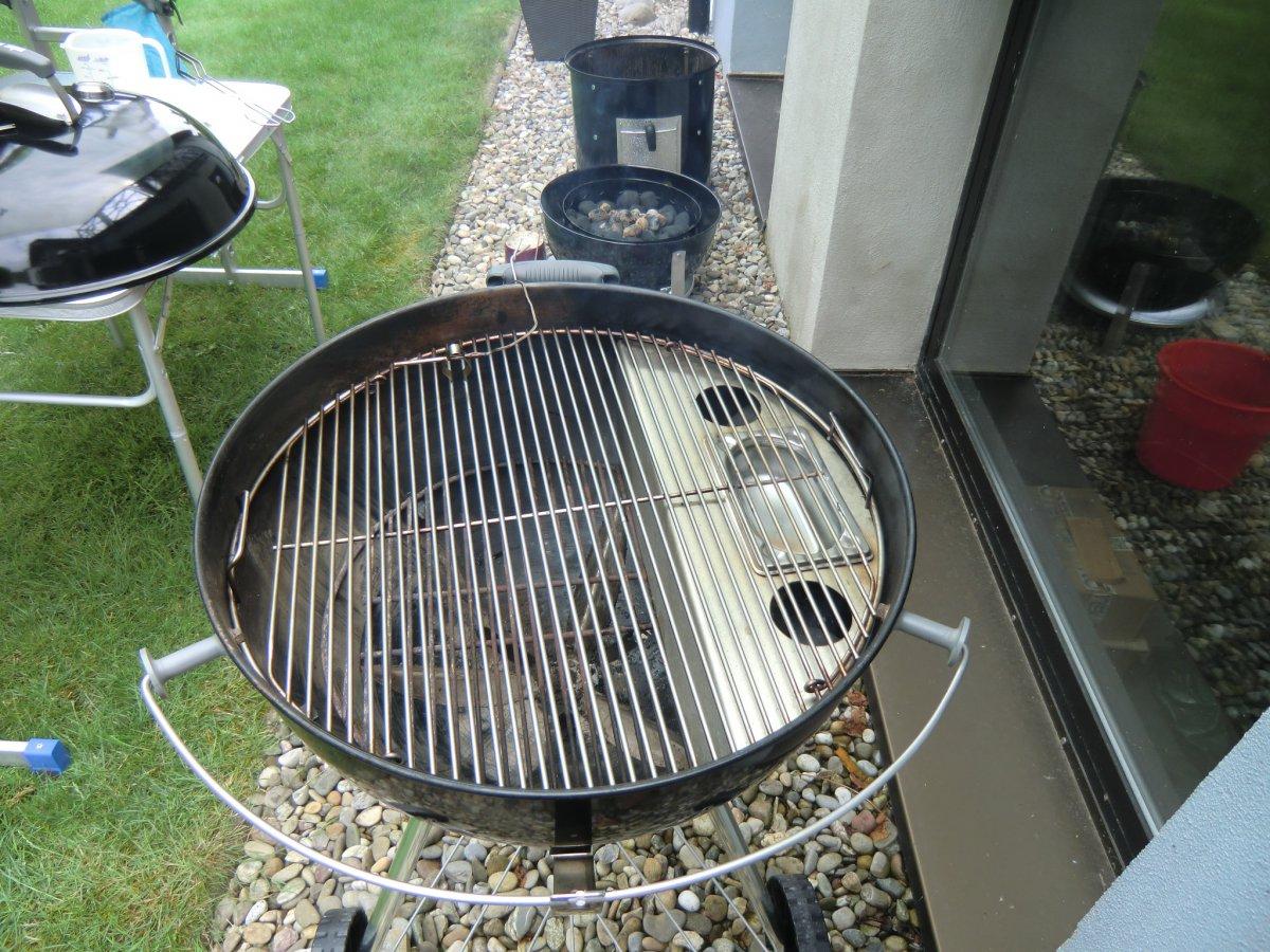 Weber Holzkohlegrill Welche Temperatur : Stabile temperatur halten auf dem holzkohlegrill grillforum und