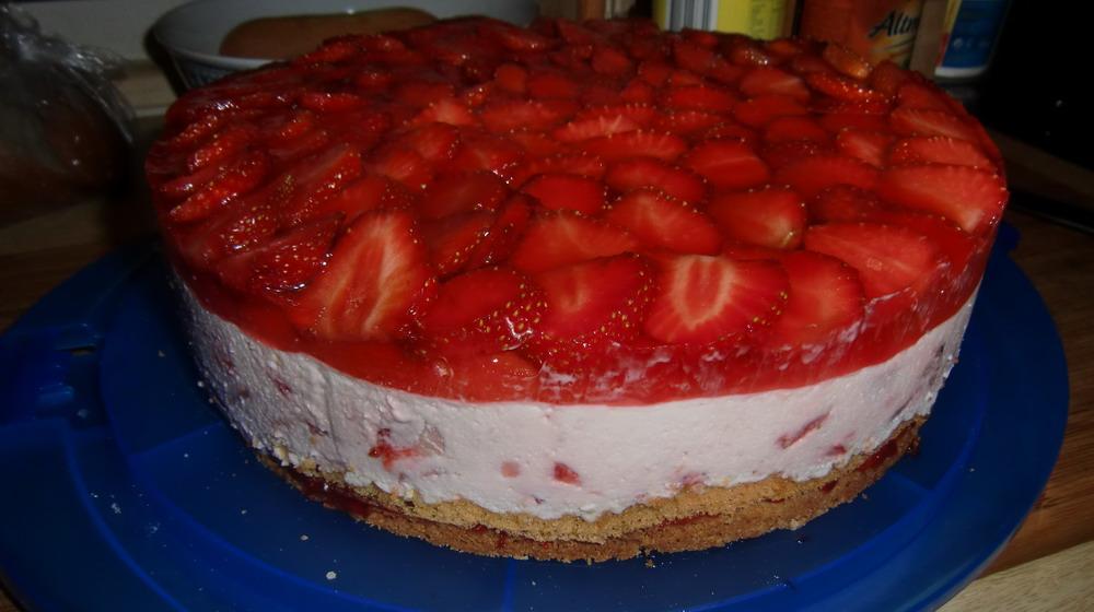 Erdbeer Quark Torte Grillforum Und Bbq Www Grillsportverein De