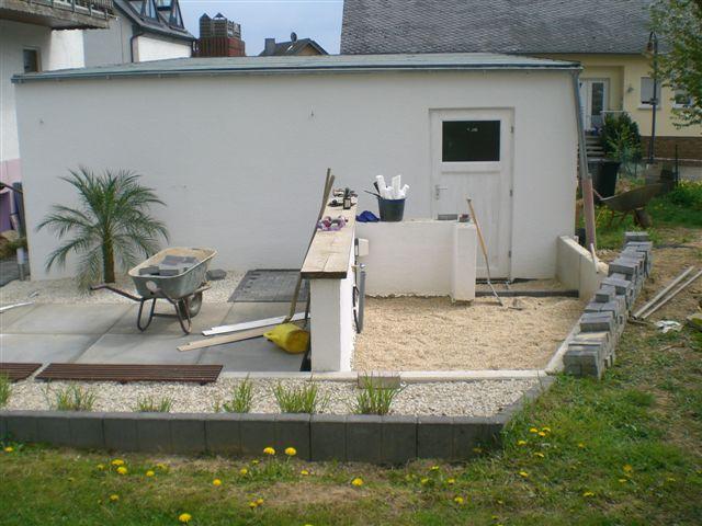 meine kleine grilloase outdoor k che grillforum und bbq. Black Bedroom Furniture Sets. Home Design Ideas