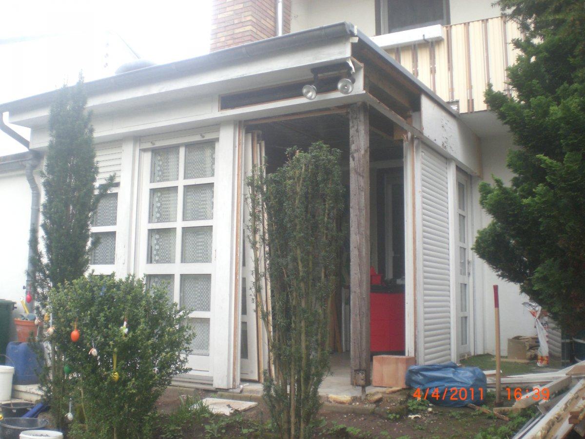 neuer wintergarten neue terasse nat rlich darf der grill nicht fehelen grillforum und bbq. Black Bedroom Furniture Sets. Home Design Ideas