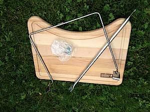verkaufe weber side table lafer edition grillforum und bbq. Black Bedroom Furniture Sets. Home Design Ideas