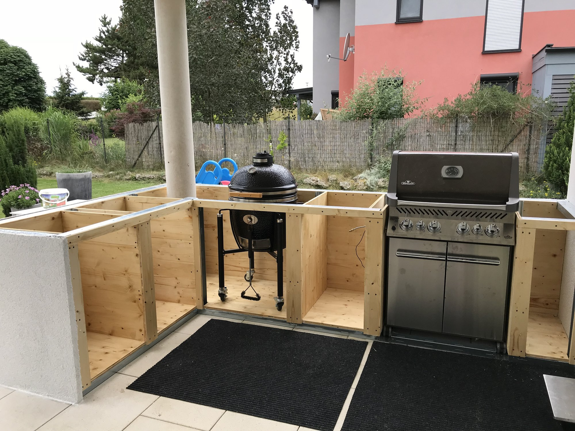 Steinplatte Outdoor Küche : Outdoorküche eigenbau grillforum und bbq www.grillsportverein.de