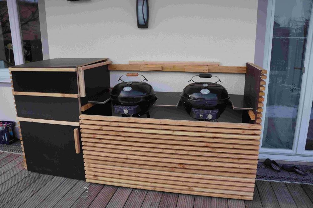aussenk che fertig grillforum und bbq. Black Bedroom Furniture Sets. Home Design Ideas