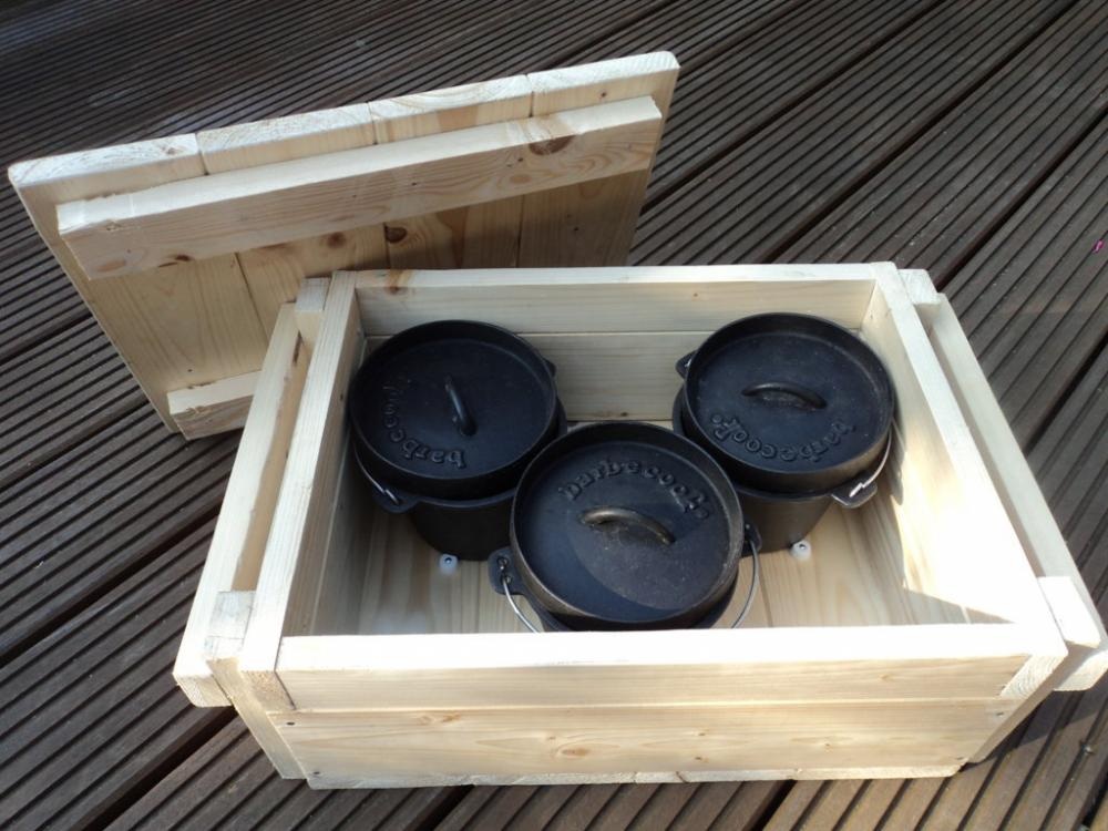 aufbewahrungskiste f r dutch oven grillforum und bbq. Black Bedroom Furniture Sets. Home Design Ideas