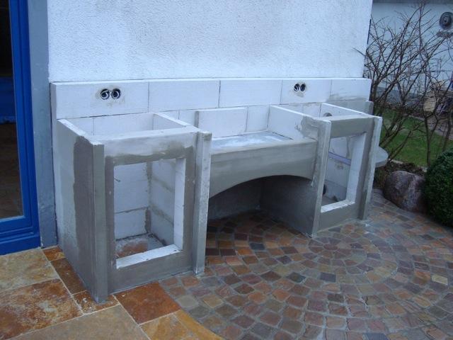 Weber Outdoor Küche Ytong : Bau einer außenküche mit napoleon prestige 600 grillforum und bbq