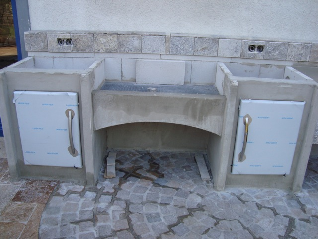 Türen Für Außenküchen : Bau einer außenküche mit napoleon prestige 600 seite 2