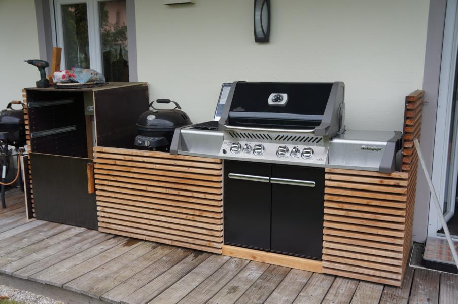 Schrank Für Außenküche : Schrank für aussenküche außenküche mit integriertem weber genesis