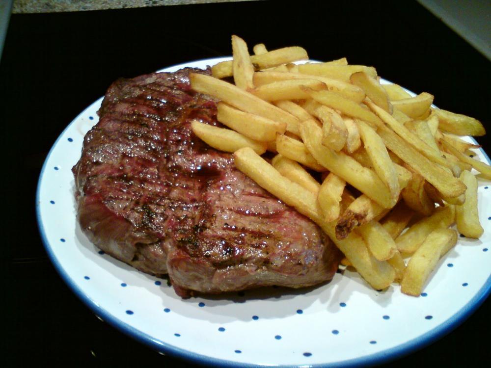 Steak Von Der Hochrippe Grillforum Und Bbq Www