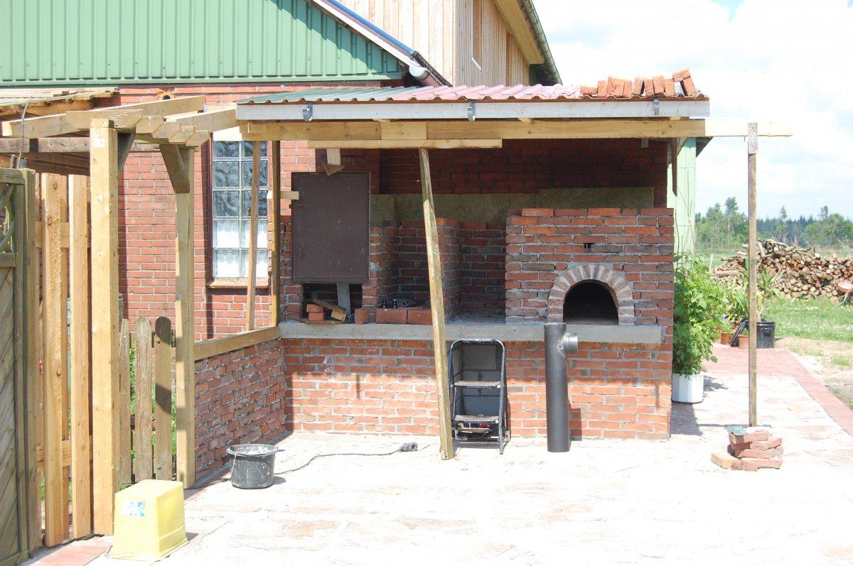 Outdoor Küche Rustikal : Schlemmermeile outdoorküche rustikal gemauert grillforum und
