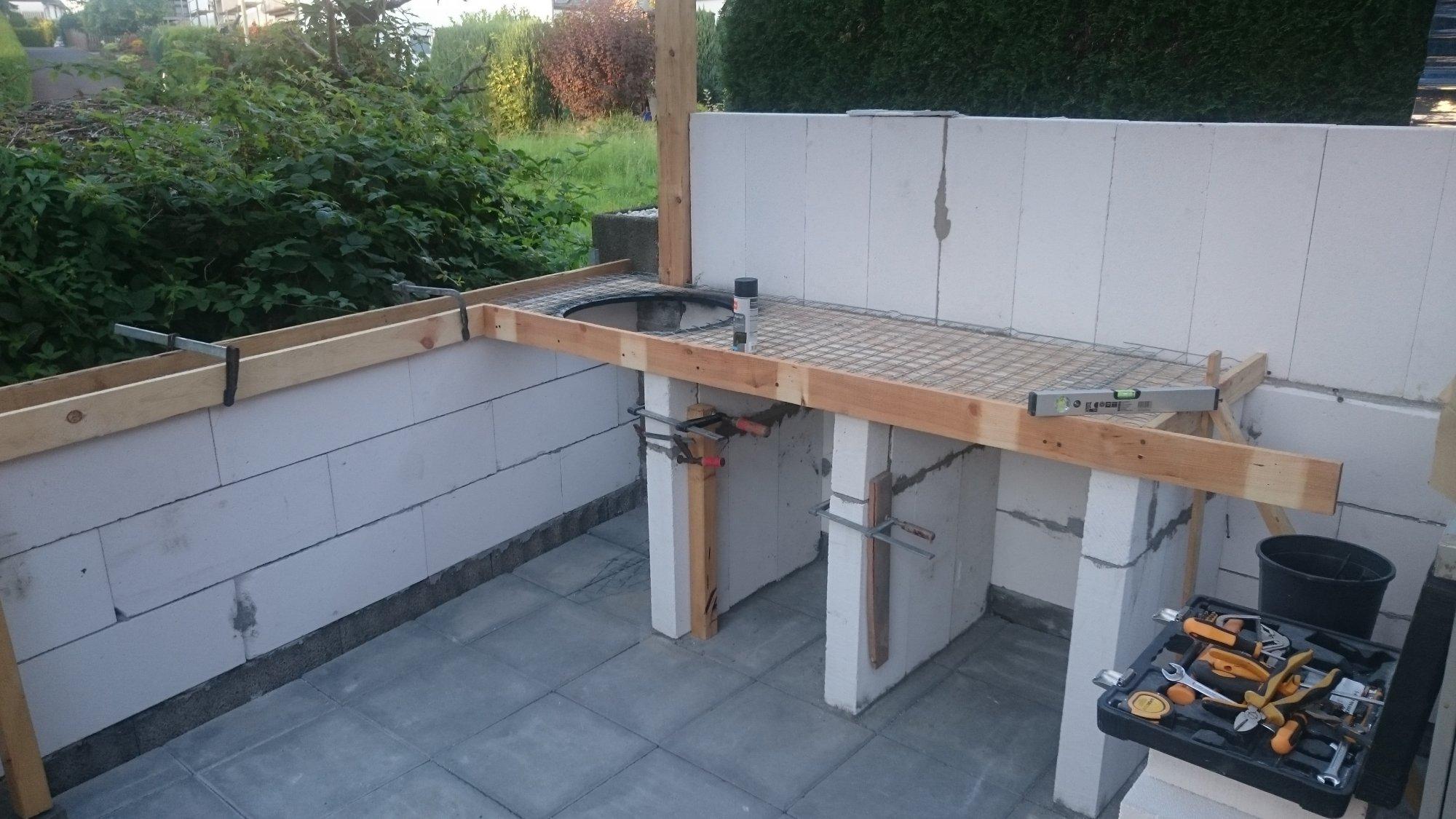 Outdoor Küche Arbeitsplatte Gießen : Beton arbeitsplatte küche gießen arbeitsplatte küche selber machen