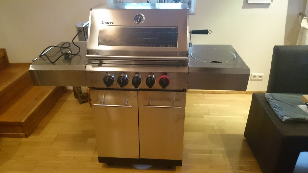 Enders Gasgrill Kansas Pro 3 Sik Turbo Test : Frage zu enders gasgrill monroe sik turbo grillforum und