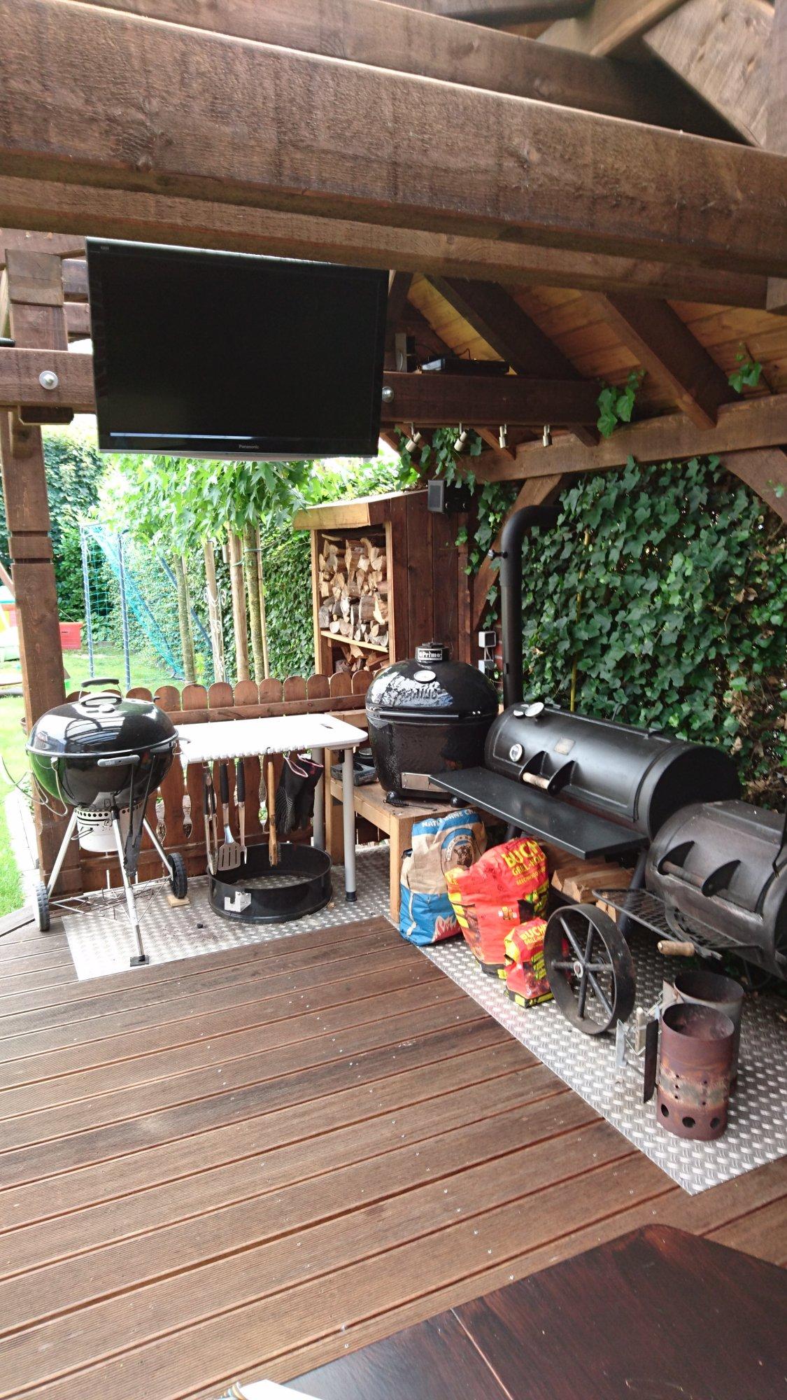 Brauche Ideen für meine Grillecke  Grillforum und BBQ