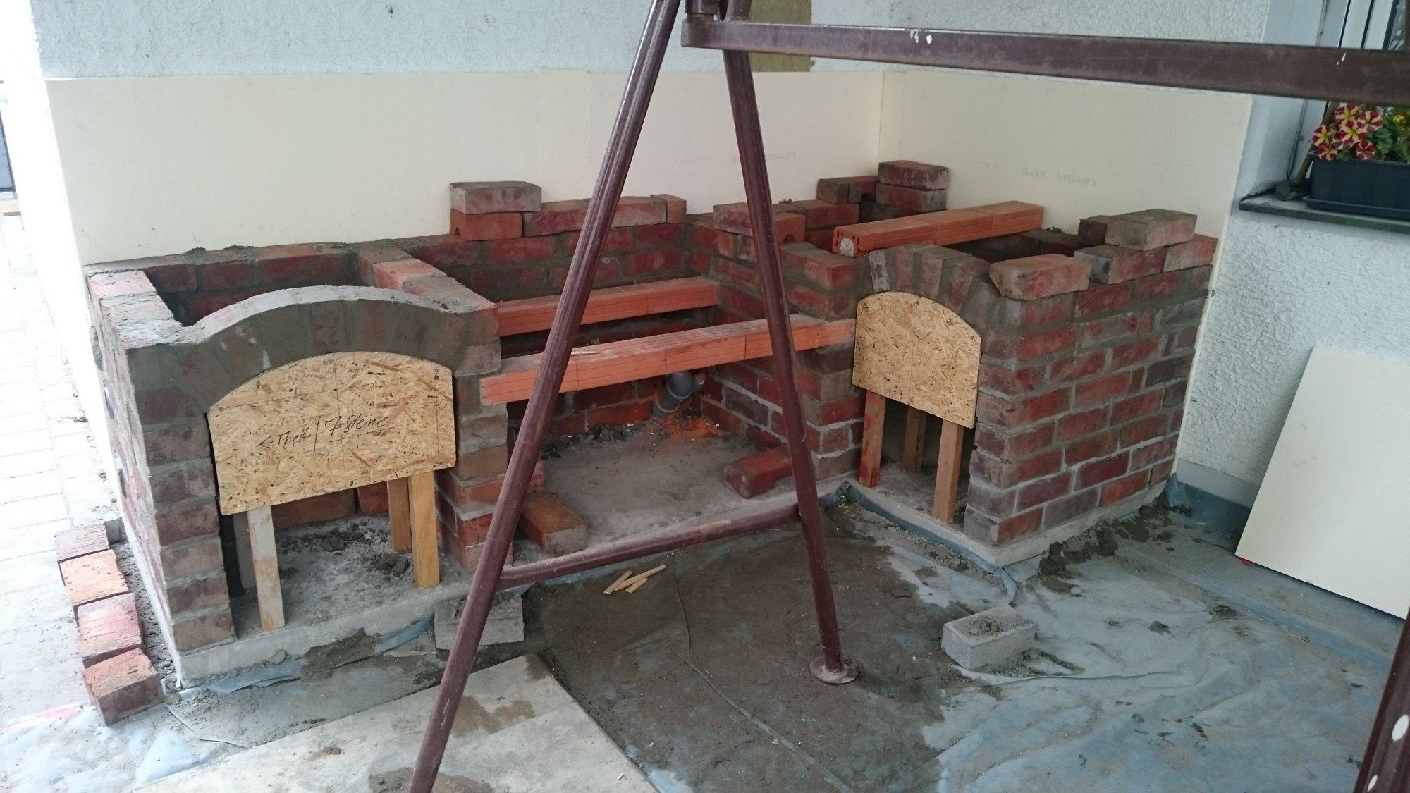 Planung und Bau einer Aussenküche | Grillforum und BBQ - www ...