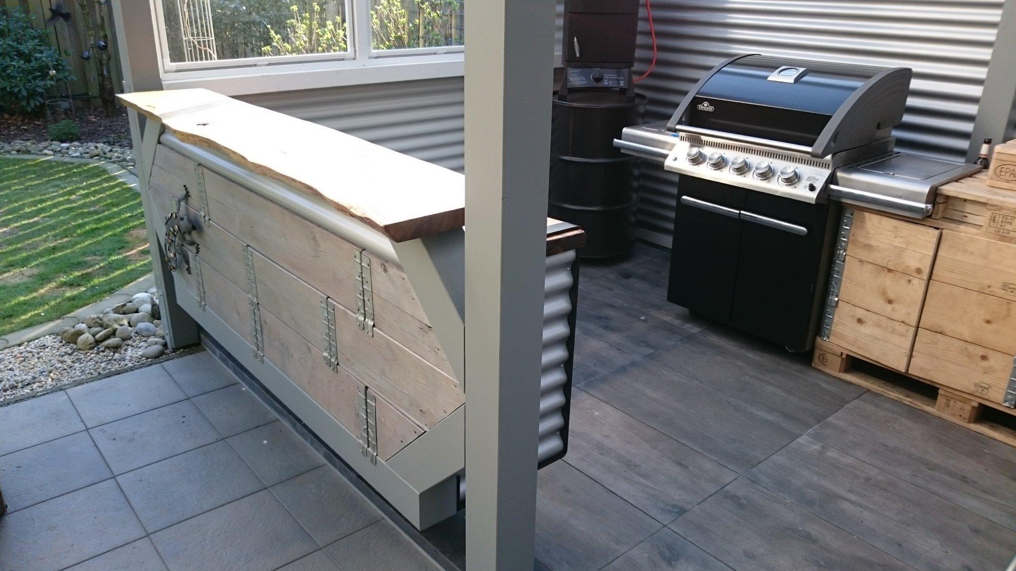 Outdoor Küche Grillsportverein : Meine neue theke in der outdoorküche. grillforum und bbq www