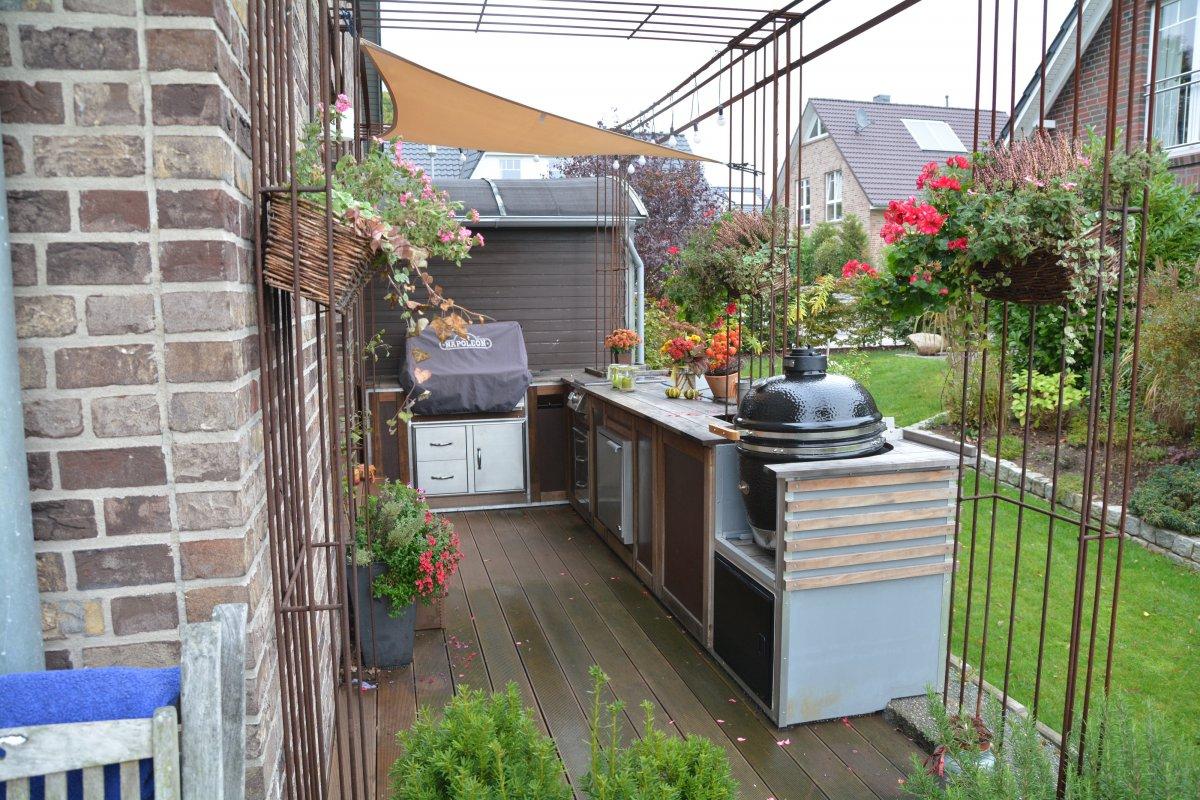 Holz Für Außenküche : Ideen für außenküche selber bauen beispiele für