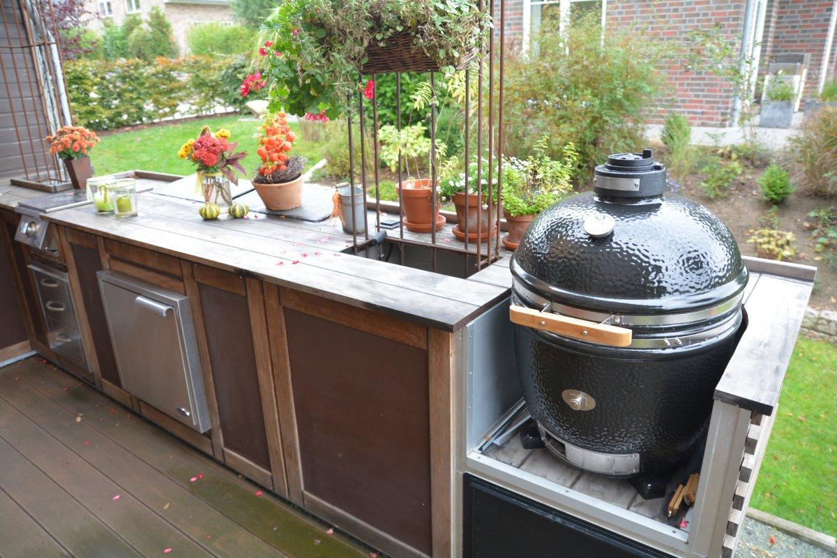 Außenküche Mit Smoker : Außenküche aus holz mit us importenseite 3 grillforum und bbq