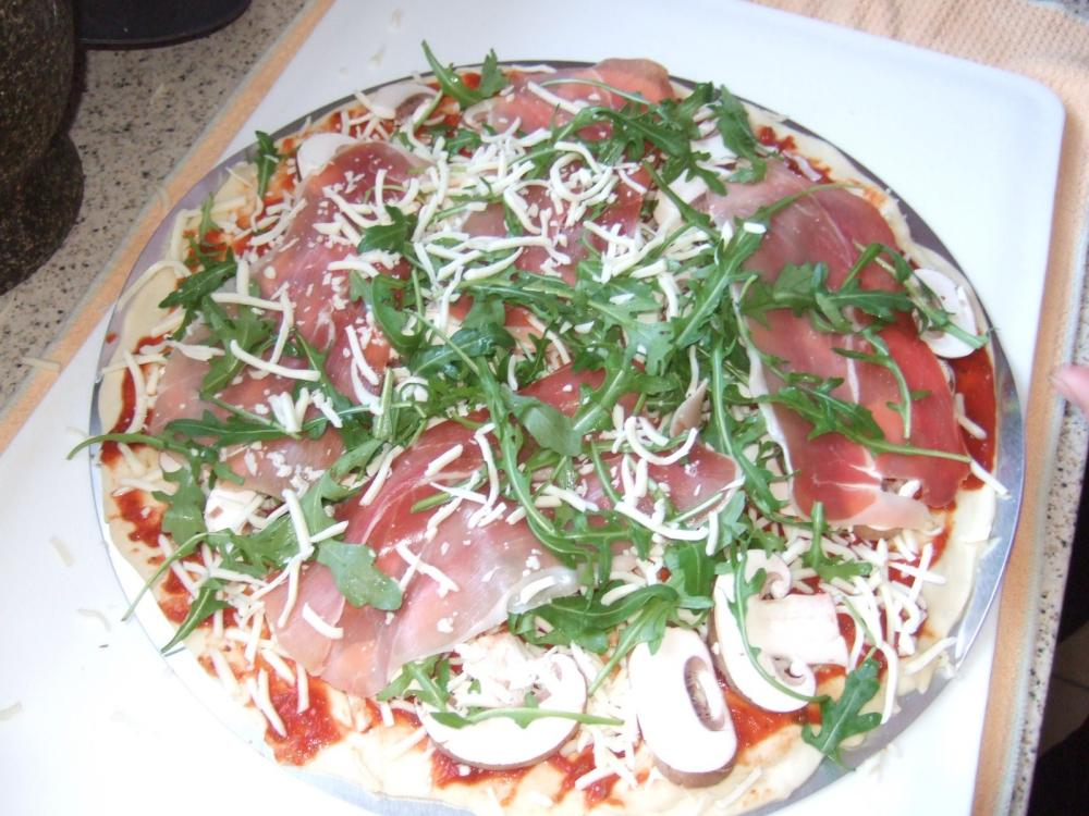 Weber Elektrogrill Pizza Backen : Meine erste pizza auf dem gas grill grillforum und bbq www