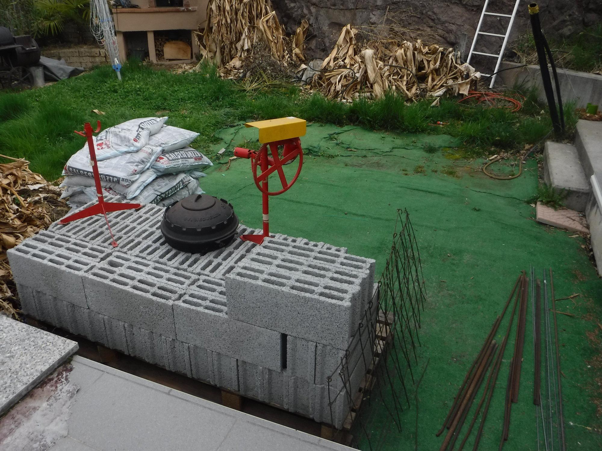 Baubeginn für eine typisch \