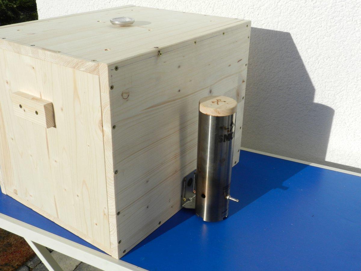 der versuch eine kleine r ucherbox zu bauen grillforum und bbq. Black Bedroom Furniture Sets. Home Design Ideas
