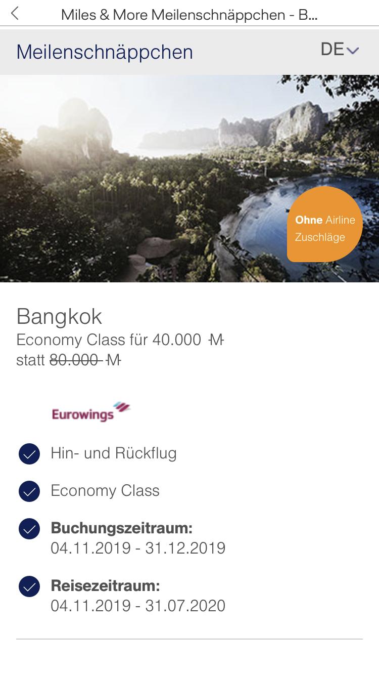 Abflug Bangkok Nach Frankfurt