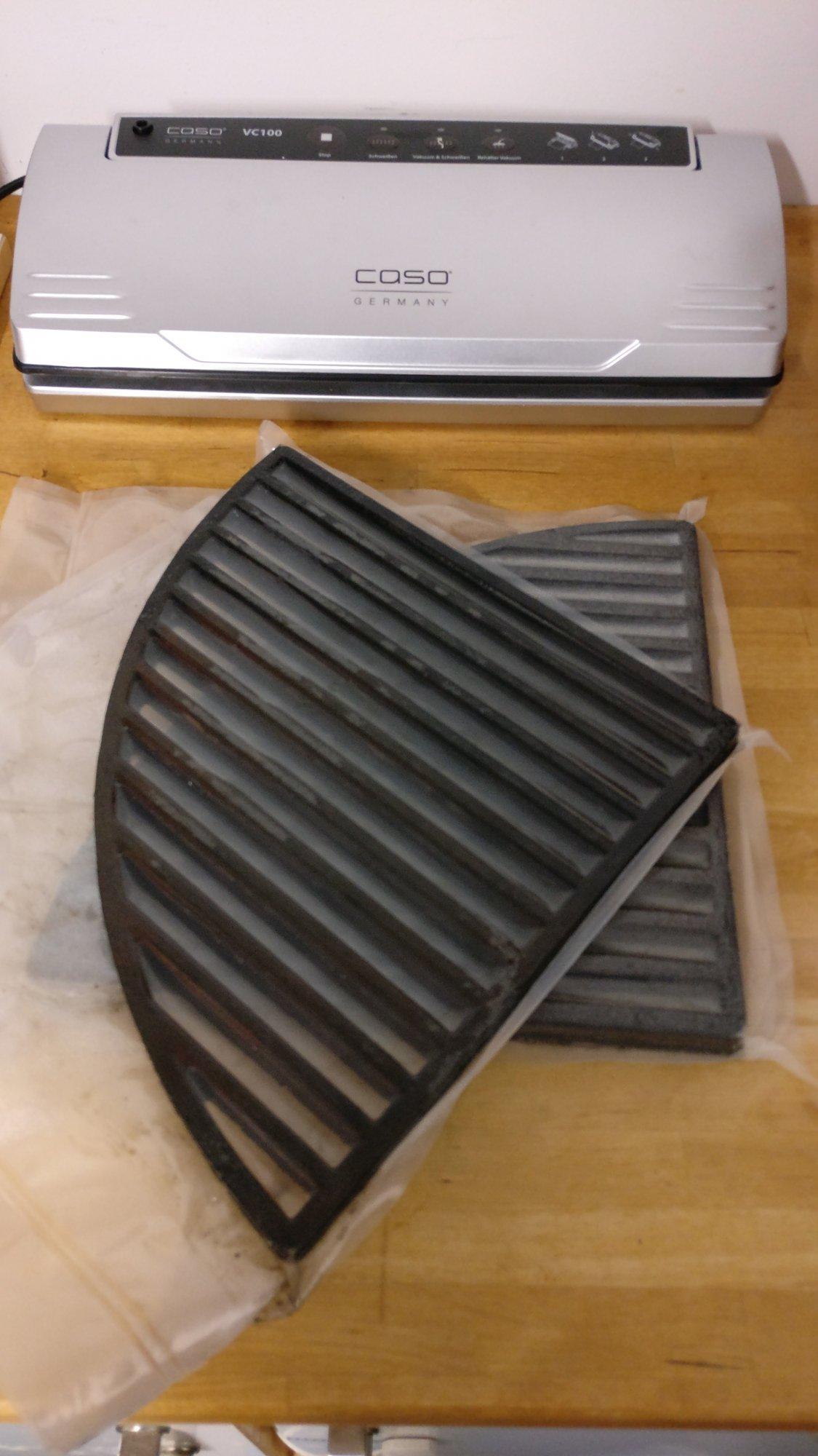 gusseisen rost im winter vakuumieren grillforum und bbq. Black Bedroom Furniture Sets. Home Design Ideas