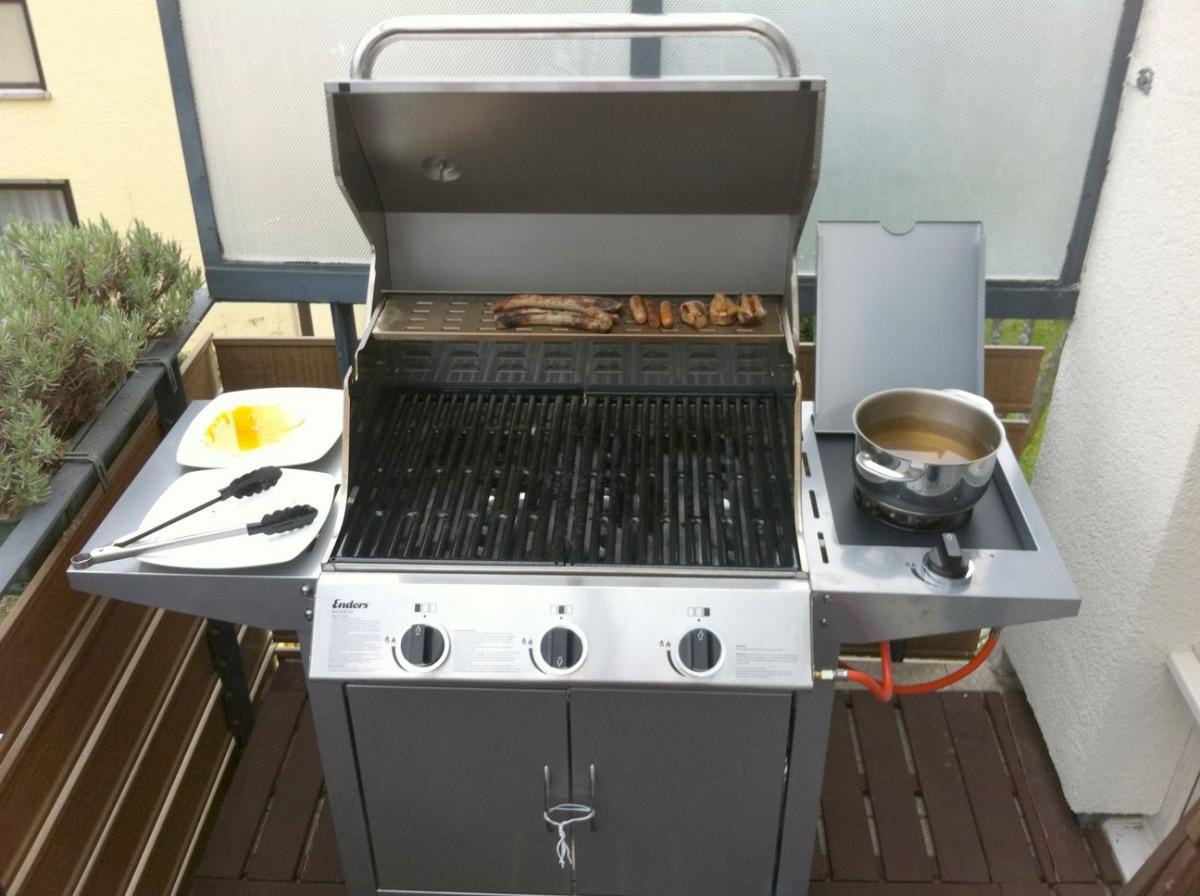 Enders Gasgrill Website : Enders monroe 3 k silverline gasgrill frage grillforum und bbq
