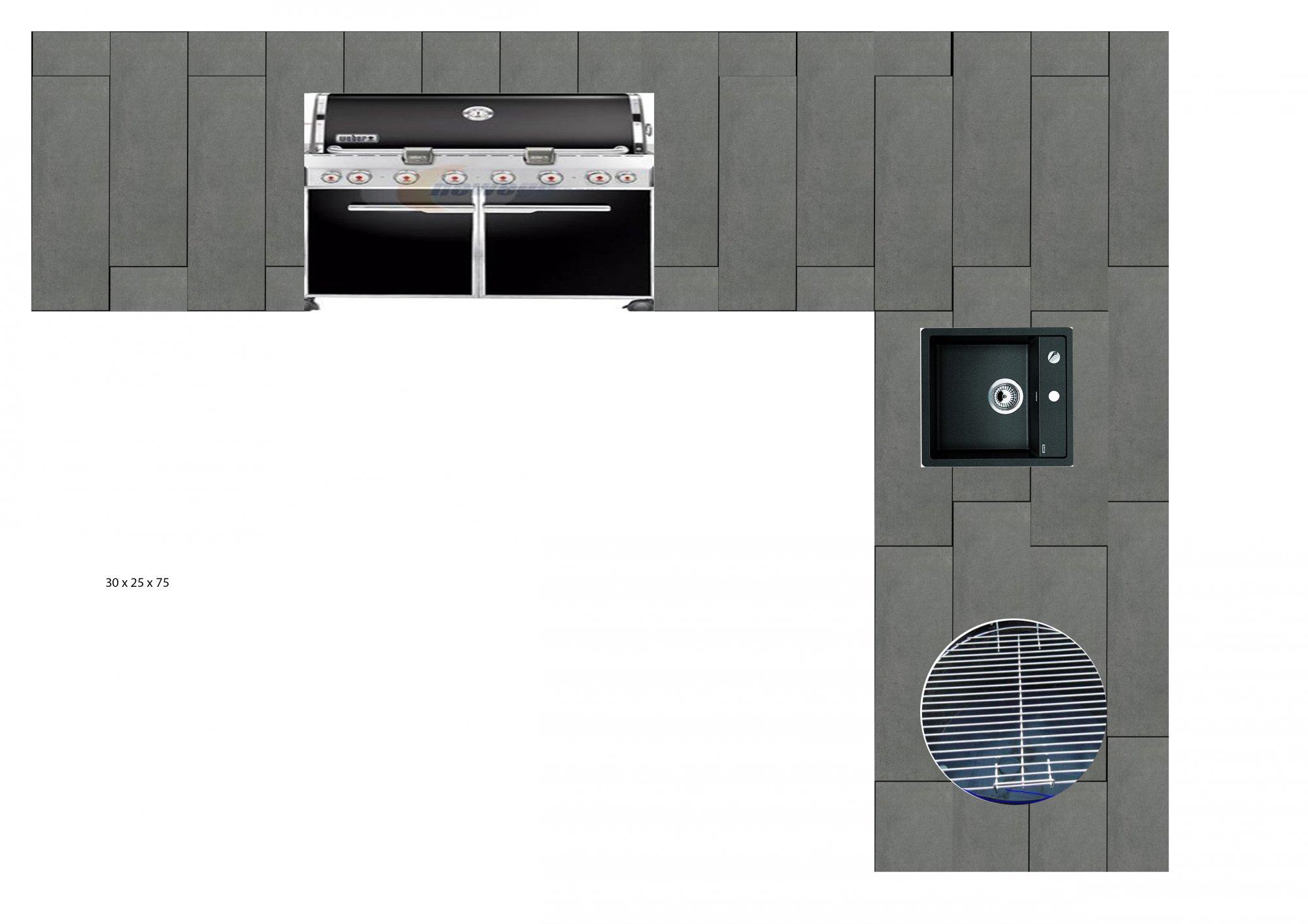 Außenküche für Summit 650, WSM und Beefer | Grillforum und BBQ - www ...