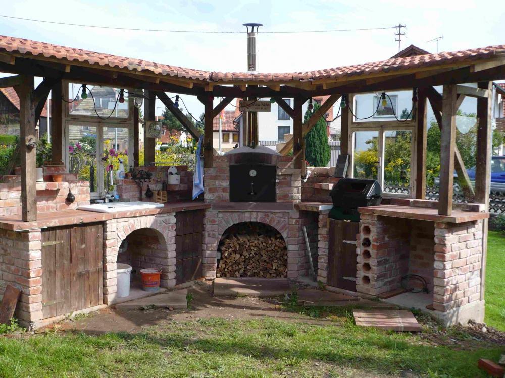 Holzbackofen Garten mit beste ideen für ihr haus ideen