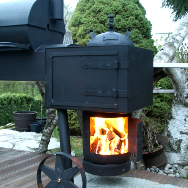 smoker mit 3 5mm wandst rke grillforum und bbq. Black Bedroom Furniture Sets. Home Design Ideas